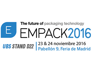 United Barcode Systems is an official exhibitor at Empack Madrid 2016